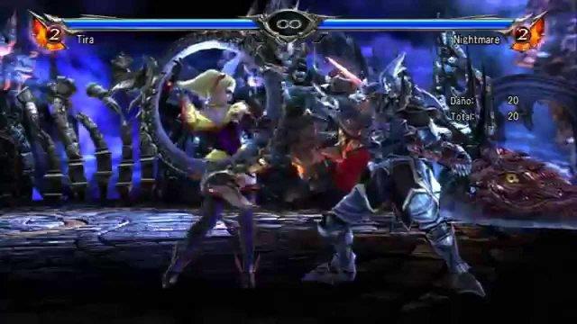 Soul Calibur V PERU Tira reset combo