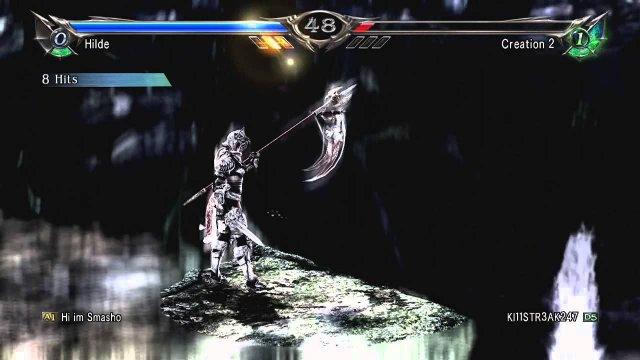 Soulcalibur V  Hilde RO combo