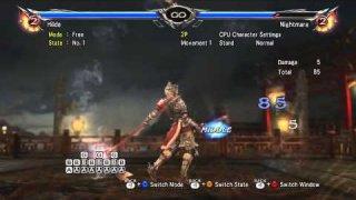 Soulcalibur V  hilde AB hold vs Nightmare