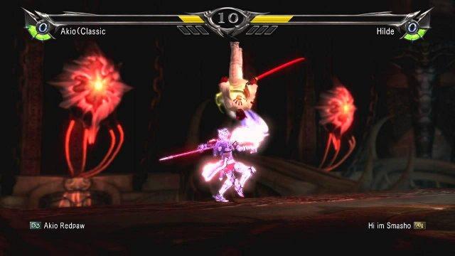 Soulcalibur V  Hilde RO combo 03