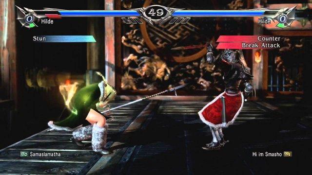 Soulcalibur V Hilde RO combo 02