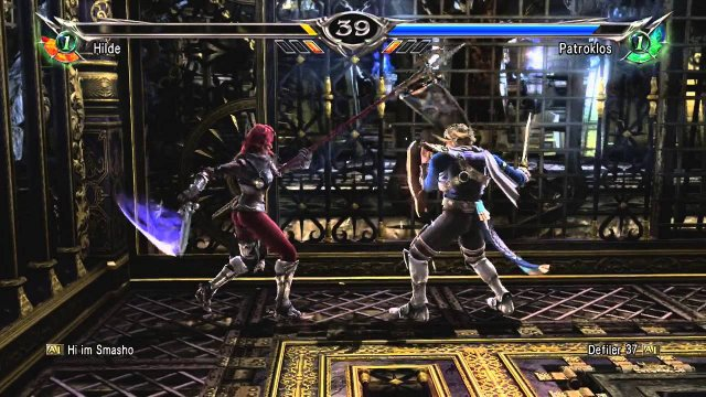 Soulcalibur V  hilde combo 04 2016