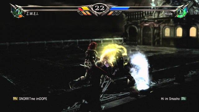 Soulcalibur V   hilde combo 01 2016