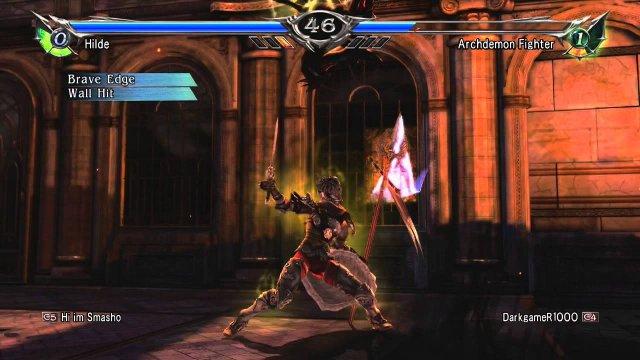 Soulcalibur V   hilde combo 2016 01