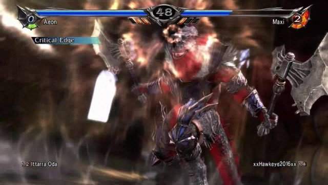 Soulcalibur V: Aeon Wombo Combo! (By Wombo I mean hey look damage)