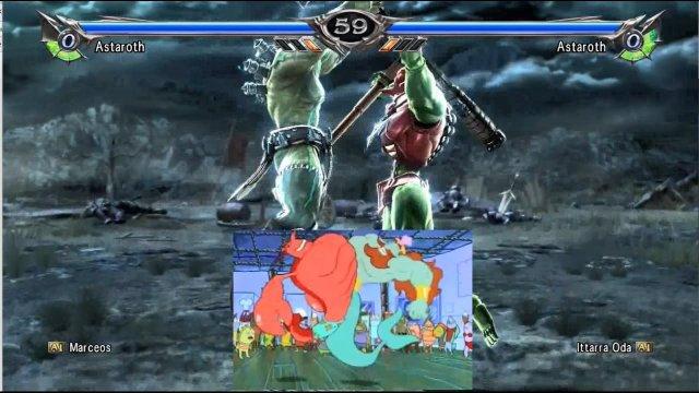 Soulcalibur V: Marceos (Astaroth) Vs. Ittarra Oda (Astaroth) Derp-a-roth strikes!