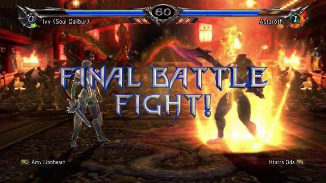 Soulcalibur V: Amy Lionheart (Ivy) Vs. Ittarra Oda (Astaroth)