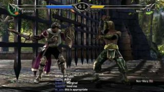 Soulcalibur V 8wayrun Online Tournament Correct Defense vs Marginal