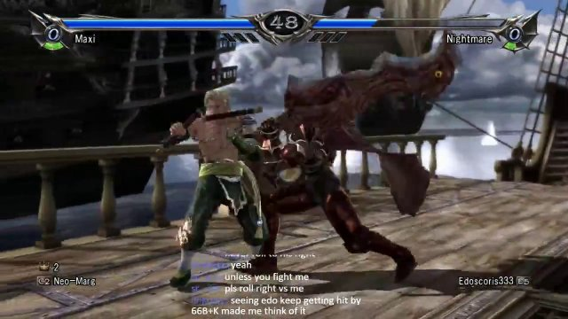 Soulcalibur V 8wayrun Tournament Match vs The_King_Edo