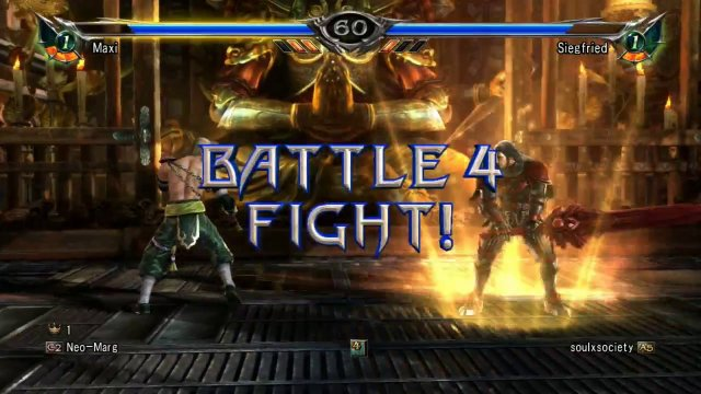 Soulcalibur V: Battling KineticClash and soulxsociety