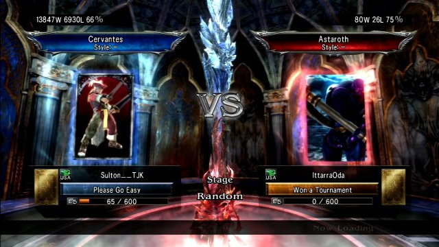 Soulcalibur V: Sulton__TJK (Cervantes) Vs IttarraOda (Astaroth)