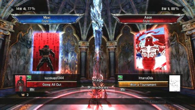 Soulcalibur V: kazekage1344 (Maxi) Vs IttarraOda (Aeon) Watch the ending