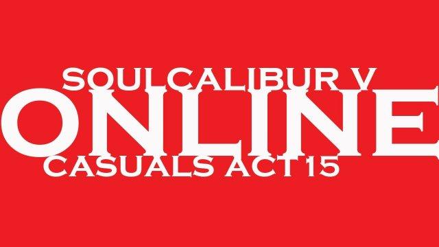 SoulCalibur V Sojiro (Astaroth) Casuals Act 15