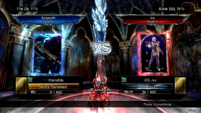 Soulcalibur V: IttarraOda (Astaroth) Vs iCS_Ivy (Ivy)