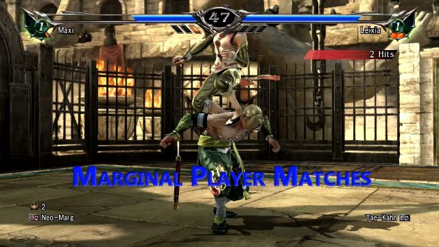 Soulcalibur V  Player Matches  Never Stop Twitching!