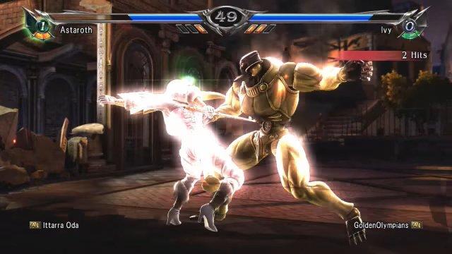 Soulcalibur V: Ittarra Oda (Astaroth) Vs. GoldenOlympians (Ivy) 4 THAT CLASH THOUGH