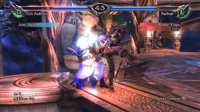 Soulcalibur V: Ittarra Oda (Ezio) Vs Amy Lionheart (Raphael) Zafina taught me well!