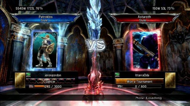 Soulcalibur V: jerongordon (Patroklos) Vs IttarraOda (Astaroth) Always give the rematch