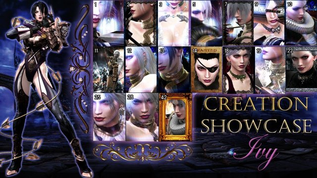 Creation Showcase: Ivy (Alternate Costume Designs)