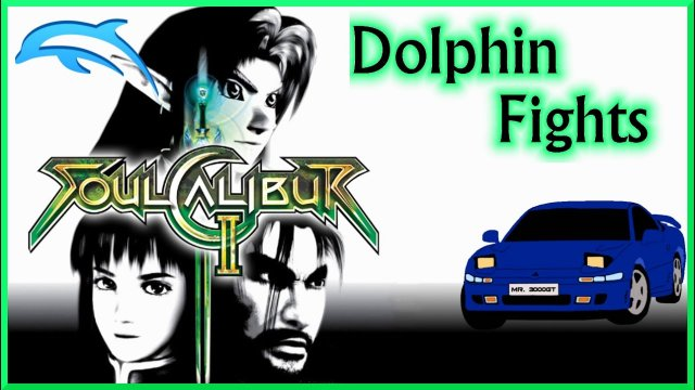 """Gods Guide Me, Up The Bum"" Dolphin Fights: SoulCalibur II"