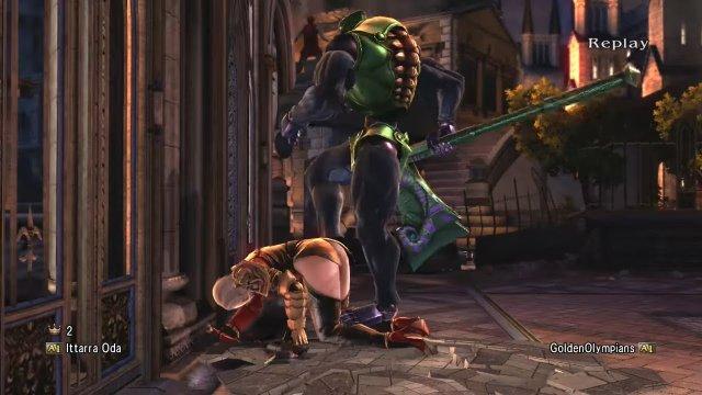 Soulcalibur V: Ittarra Oda (Astaroth) Vs. GoldenOlympians (Ivy) 2 HOW DID THAT GRAB HIT!?