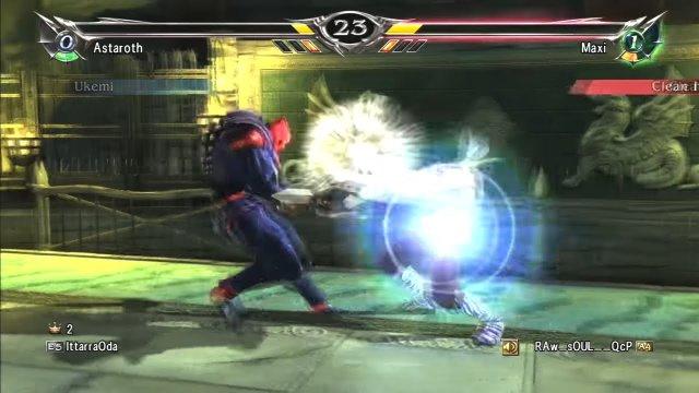 Soulcalibur V: RAw__sOUL__QcP (Maxi) Vs IttarraOda (Astaroth) Match 4 of 4