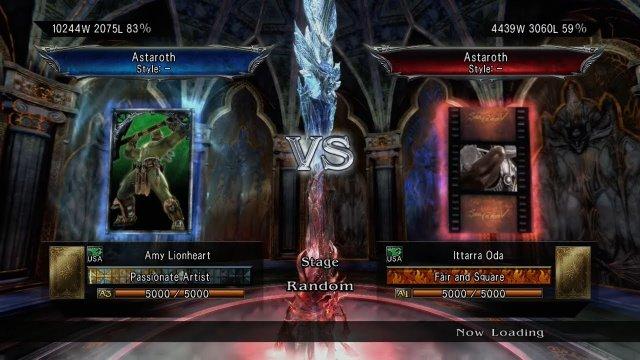 Soulcalibur V: Amy Lionheart (Astaroth) Vs Ittarra Oda (Astaroth)