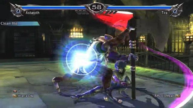Soulcalibur V: Ittarra Oda (Astaroth) Vs. Amy Lionheart (Tira) 2