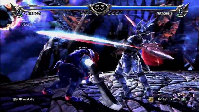 Soulcalibur V: IttarraOda (Astaroth/Aeon) Vs. PRINCE-KC-21 (Nightmare)