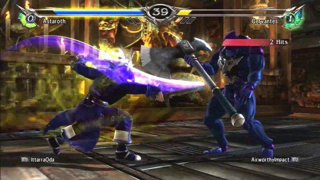 Soulcalibur V: IttarraOda (Astaroth) Vs Airworthyimpact (Cervantes)
