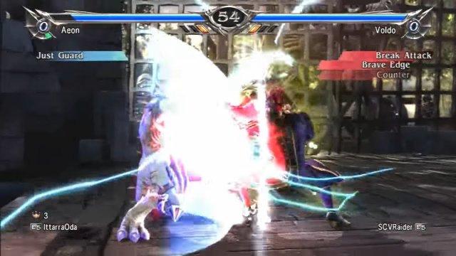 Soulcalibur V: IttarraOda (Aeon) Vs. SCVRaider (Voldo)