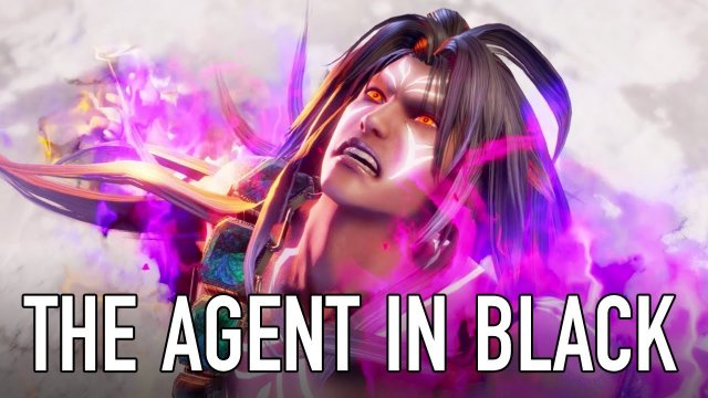 SOULCALIBUR VI - PS4/XB1/PC - The Agent in Black (Character announcement trailer)