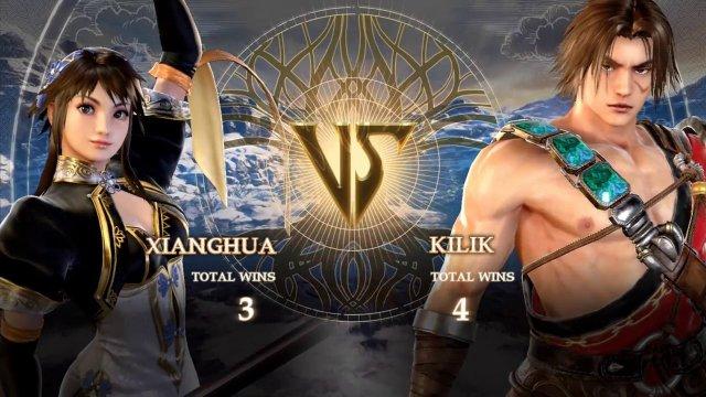 SoulCalibur VI - Hyrul (Xianghua) vs Silent Joel (Kilik)