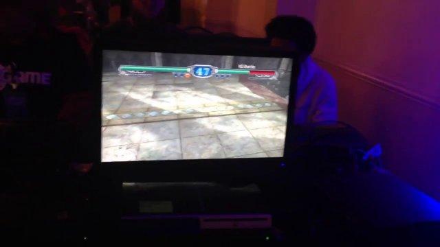 SoulCalibur II Lizardman Camera Glitch done in Tournament