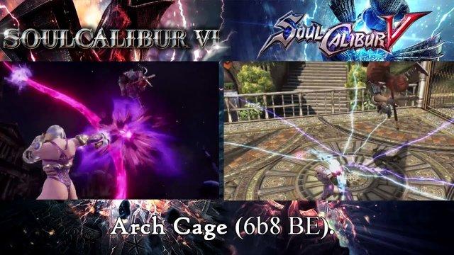 SOULCALIBUR VI | Ivy Reveal Trailer: Moves Comparison (SCIV/V)